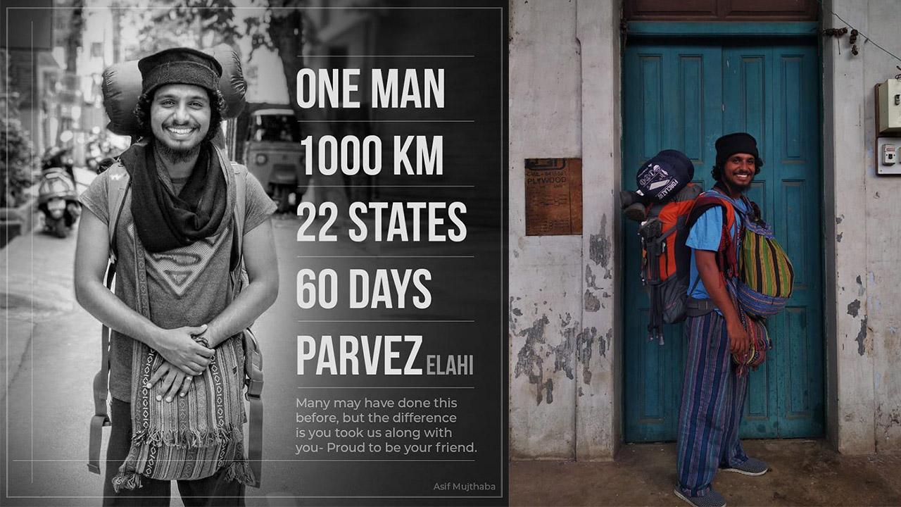 Parvez Elahi: The Man on Foot Covers 22 States, 1000km, 60 Days